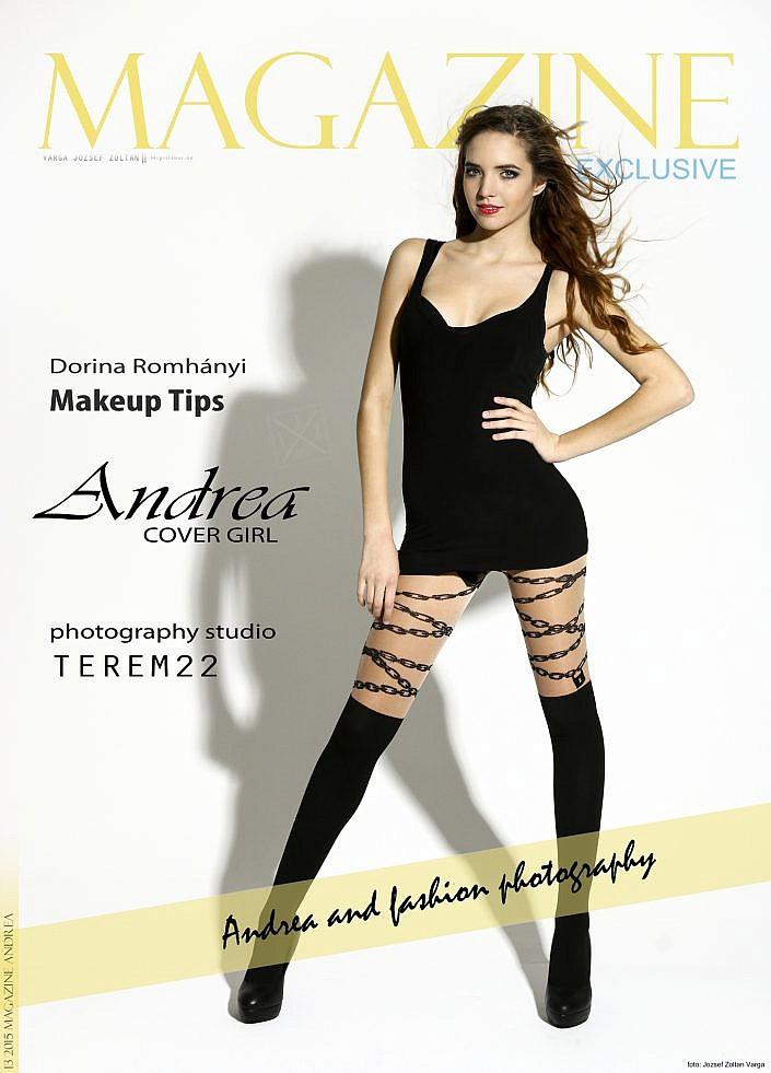Magazine 2015 13 | Andrea | Cover Girl