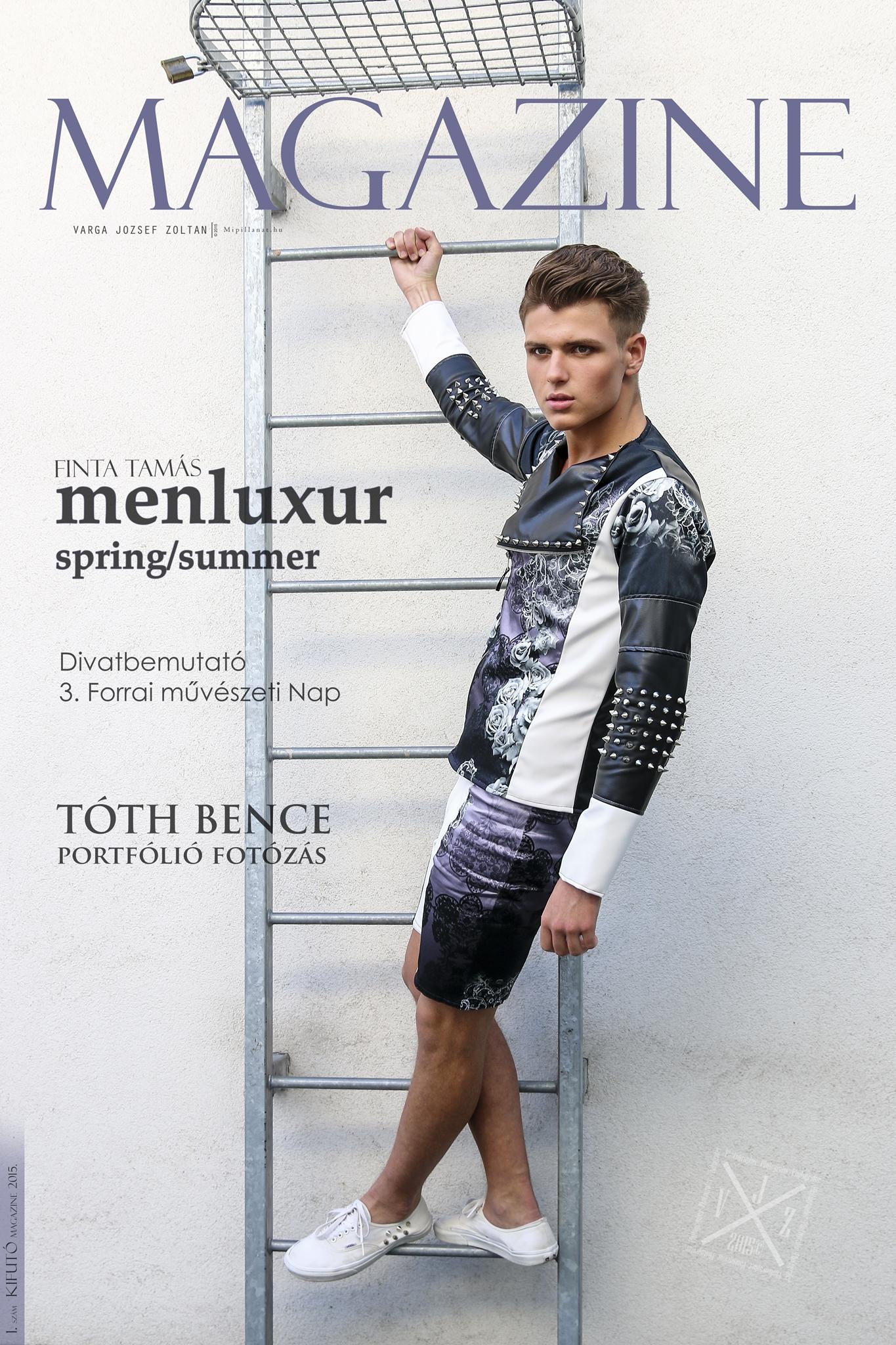 Magazine 2015 05   Finta Tamás   Fashion designer